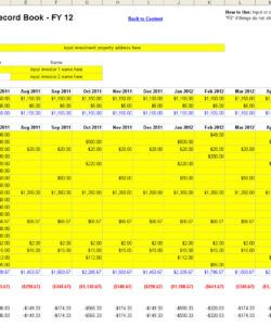 printable free rental property management spreadsheet in excel property management budget template pdf