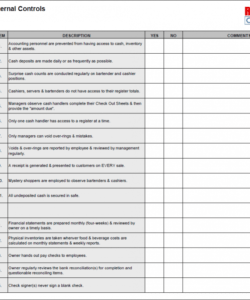 printable restaurant checklists restaurant side work checklist template examples