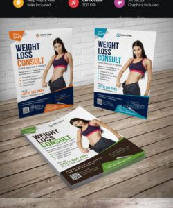weight loss flyer graphics designs & templates weight loss flyer template