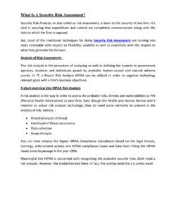 what is a security risk assessment? by alena joy  issuu security risk analysis template meaningful use example