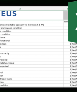your ultimate hotel housekeeping checklist  downloadable hotel maintenance checklist template excel