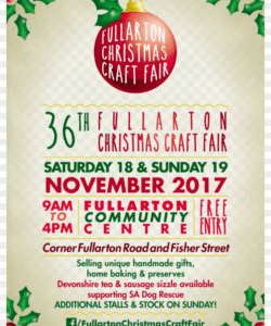 20 noverber craft show flyer templates 3 pictures and craft show flyer template
