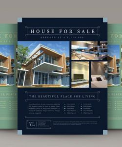 30 best real estate flyer templates  design shack land for sale flyer template
