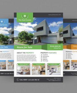 30 best real estate flyer templates  design shack land for sale flyer template pdf
