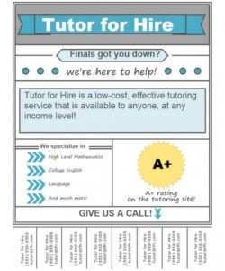 32 create math tutor flyer template with math tutor flyer math tutoring flyer template and sample