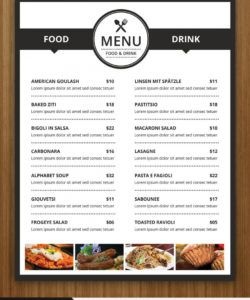 40 restaurant  food menu design psd templates  decolore modern restaurant food menu flyer template doc