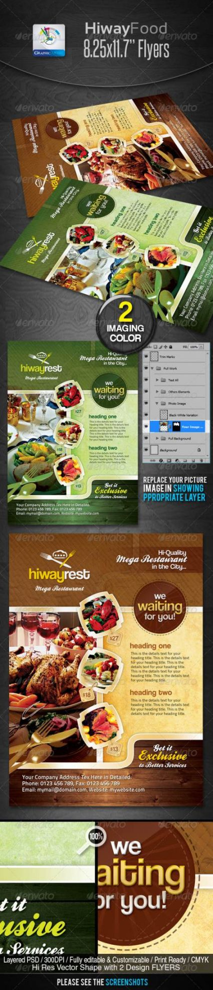 45 best restaurant and food flyer templates modern restaurant food menu flyer template