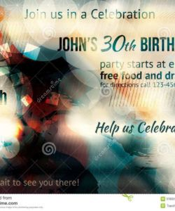 53 create birthday party invitation flyer template download party invitation flyer template pdf