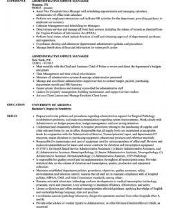 administrative office manager resume samples  velvet jobs office manager job description template