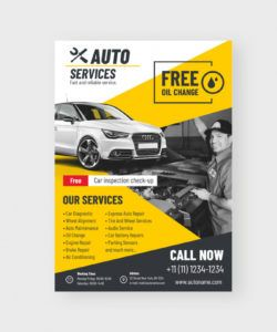 auto flyer template coreldraw auto shop flyer template pdf