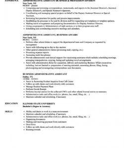 business administrative assistant resume samples  velvet jobs executive assistant job description template pdf