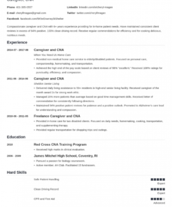 caregiver resume examples skills duties & objectives caregiver job description template doc