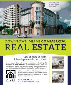 commercial real estate flyer template  mycreativeshop commercial property flyer template