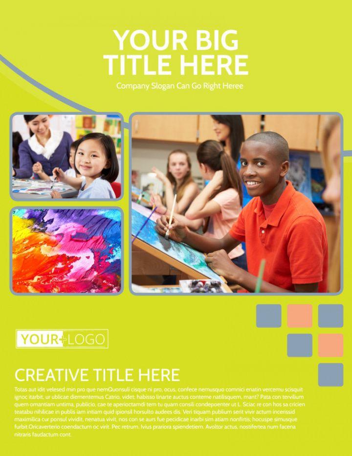 creative art class flyer template  mycreativeshop art class flyer template doc