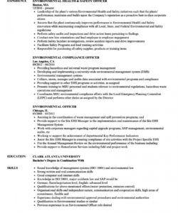 environmental officer resume samples  velvet jobs safety officer job description template pdf