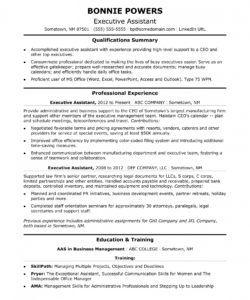 executive administrative assistant resume sample  monster executive assistant job description template pdf