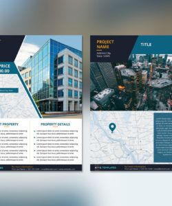 flyer template for commercial real estate commercial property flyer template doc