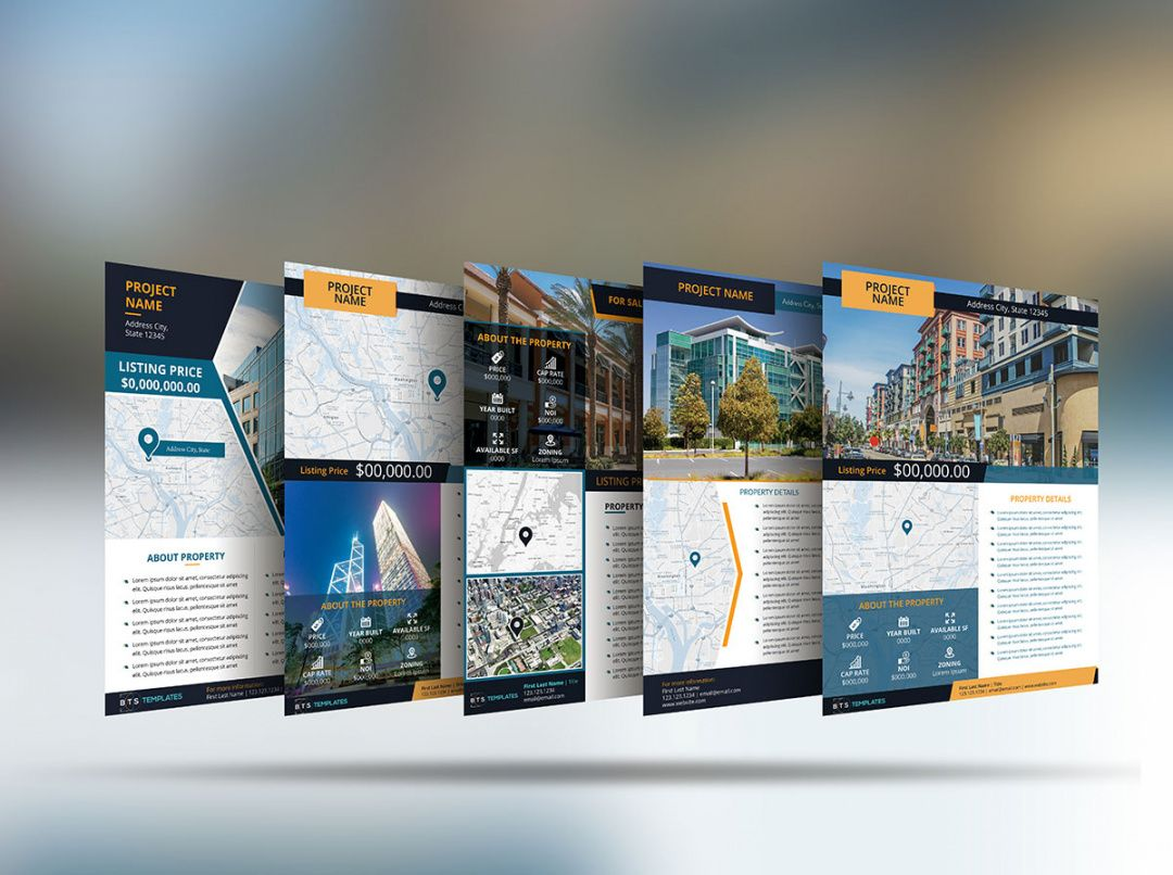 flyer template for commercial real estate commercial property flyer template pdf