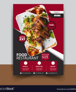 food restaurant flyer template new restaurant flyer template pdf