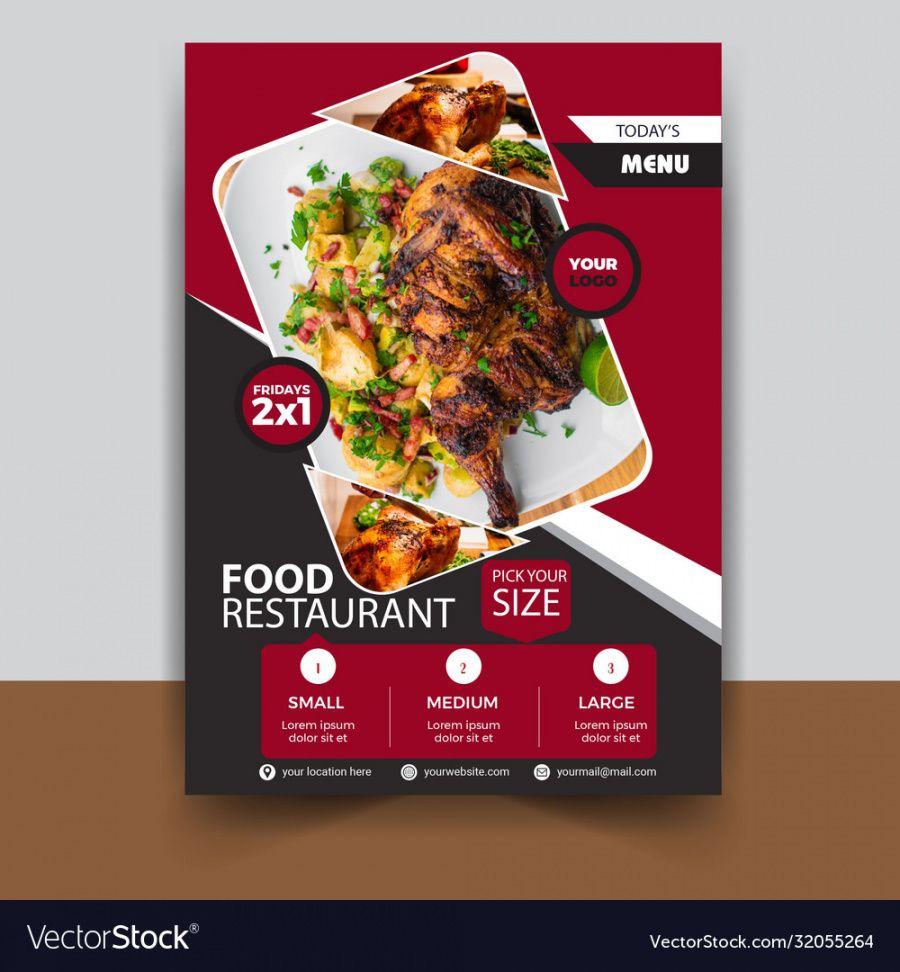 food restaurant flyer template new restaurant flyer template pdf