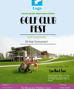 free 15 free golf tournament flyer templates  fundraiser golf tournament fundraiser flyer template