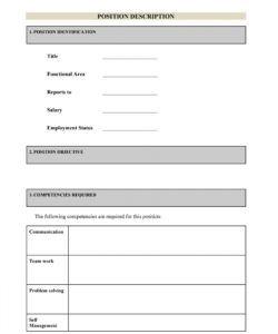 free 47 job description templates & examples ᐅ templatelab modern job description template doc