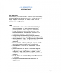 free accountant job description template  by businessinabox™ accounting job description template