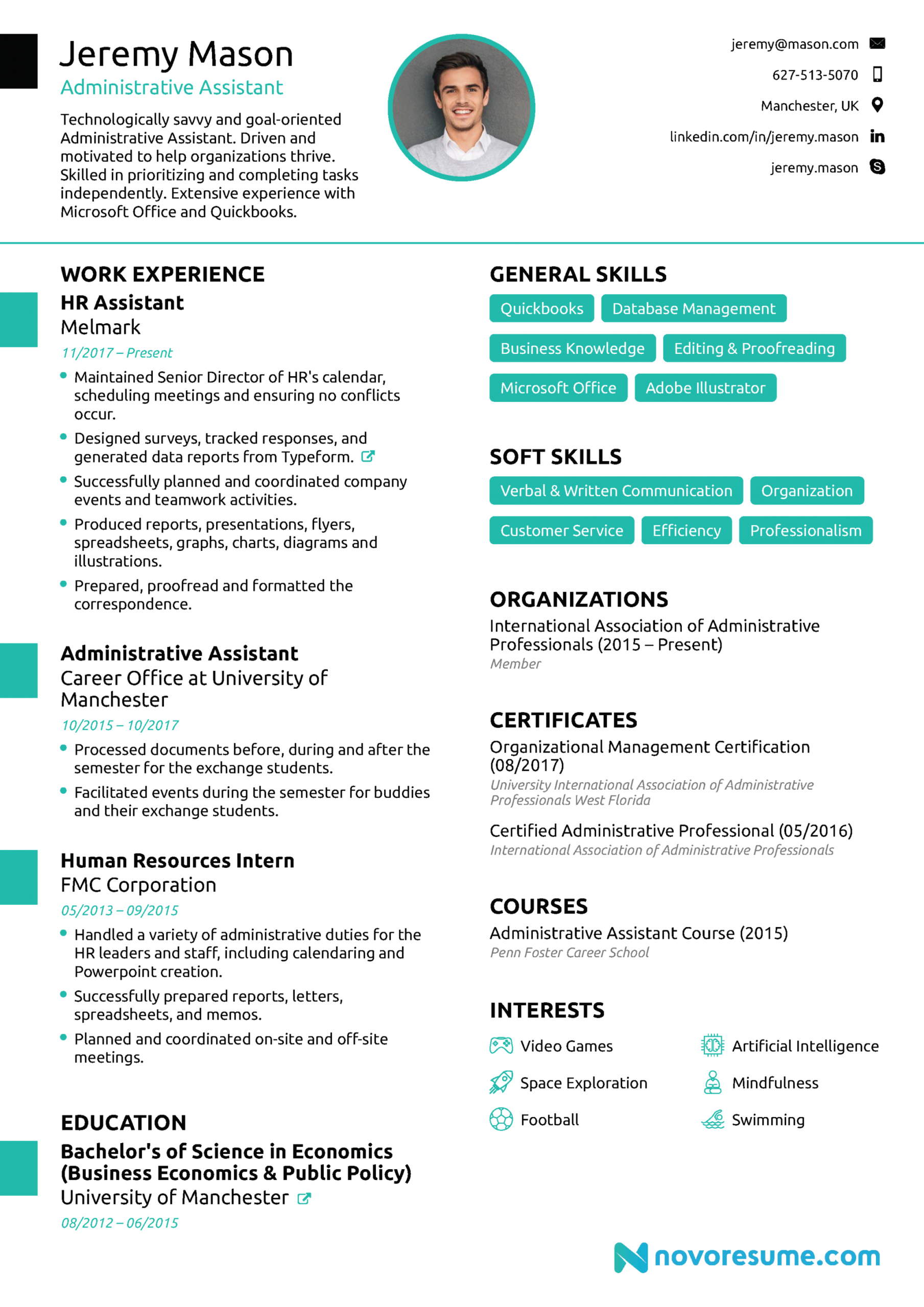 free administrative assistant resume [2020]  guide & examples office assistant job description template and sample