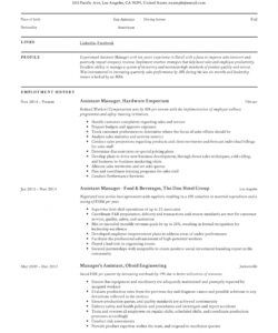 free assistant manager resume & writing guide  12 samples  pdf assistant manager job description template pdf