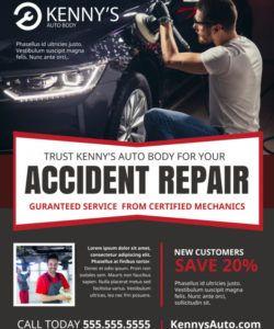 free car repair flyer template  mycreativeshop auto shop flyer template doc