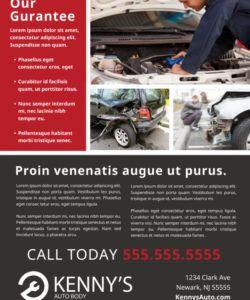 free car repair flyer template  mycreativeshop auto shop flyer template pdf