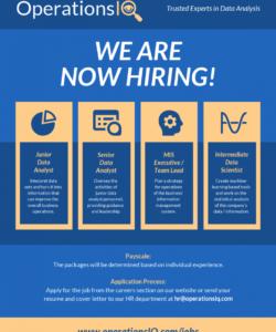 free data company job hiring flyer template now hiring template flyer doc
