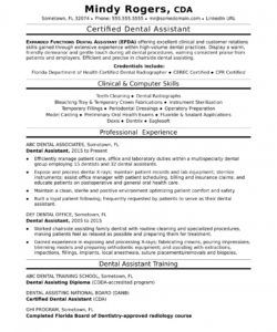 free dental assistant resume sample  monster dental assistant job description template doc