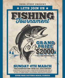 free fishing tournament flyer corporate identity template fishing flyer template doc
