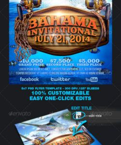 free fishing tournament flyer template fishing flyer template doc