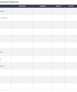 free free vendor risk assessment templates  smartsheet vendor management checklist template doc