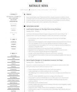free graphic designer resume & writing guide  12 resume senior graphic designer job description template