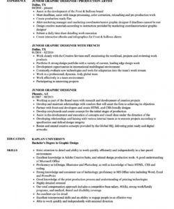 free junior graphic designer resume samples  velvet jobs senior graphic designer job description template