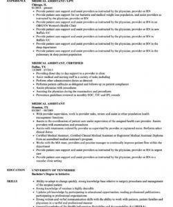 free medical assistant resume samples  velvet jobs medical assistant job description template