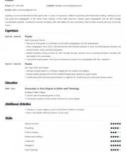 free pastor resume template guide & 20 examples pastor job description template doc