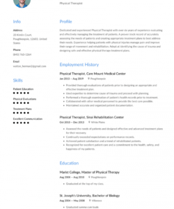 free physical therapist resume examples & writing tips 2020 free physical therapist job description template pdf