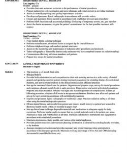 free registered dental assistant resume samples  velvet jobs dental assistant job description template doc