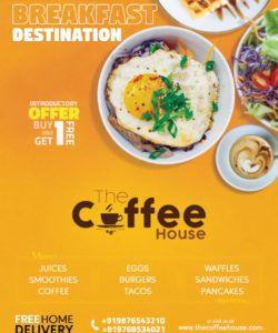 free restaurant flyer  social media free psd template  psddaddy new restaurant flyer template pdf