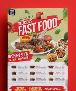 free restaurant promotion flyer template psd new restaurant flyer template