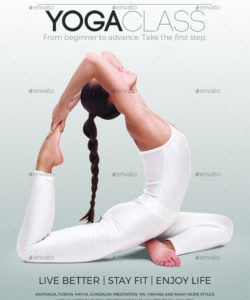 free yoga class flyer instagram & facebook templates yoga class flyer template and sample