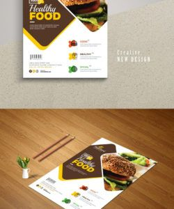 freepiker  modern fast food restaurant flyer template new restaurant flyer template