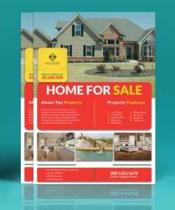 house for sale flyer templates on student show land for sale flyer template