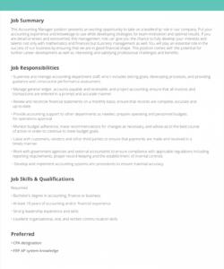 job description samples & examples  livecareer professional job description template pdf