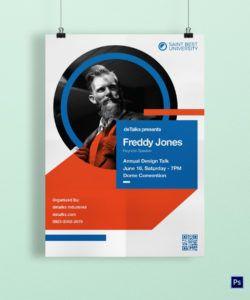 keynote speaker poster design template in psd word motivational speaker flyer template