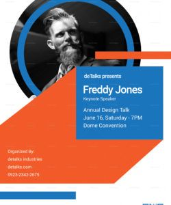keynote speaker poster design template in psd word motivational speaker flyer template doc